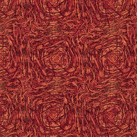 Coral Zebra Play fabric by wren_leyland on Spoonflower - custom fabric