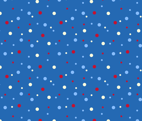 robo_puppy_confetti_dot fabric by victorialasher on Spoonflower - custom fabric