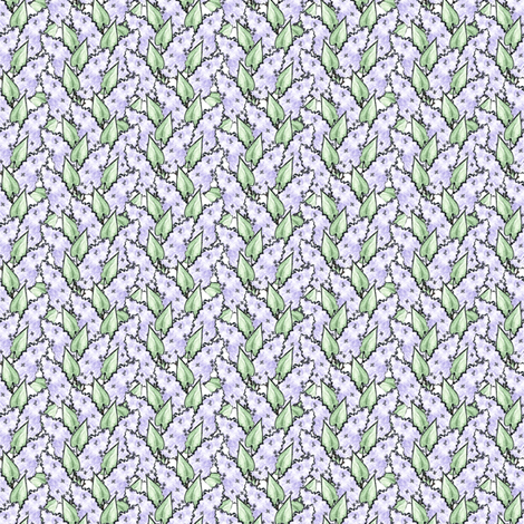 Lilacs fabric by siya on Spoonflower - custom fabric