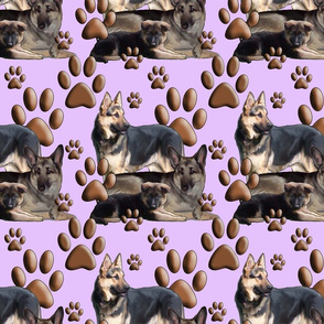 gsd family seamless pattern
