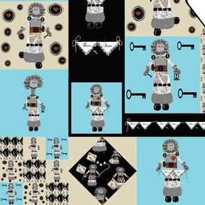 Eloise Robot Cheater Quilt