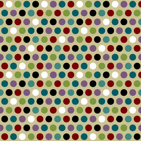 zak spot light fabric by scrummy on Spoonflower - custom fabric