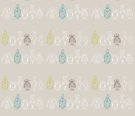 RobolineMulti fabric by emilou on Spoonflower - custom fabric