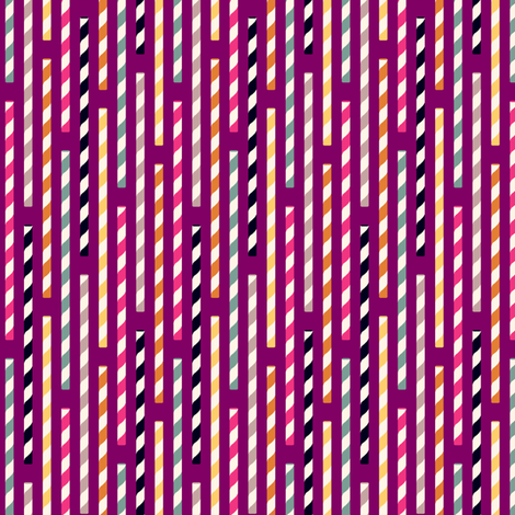 straws - plum fabric by cheyanne_sammons on Spoonflower - custom fabric