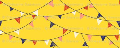 flags - mustard