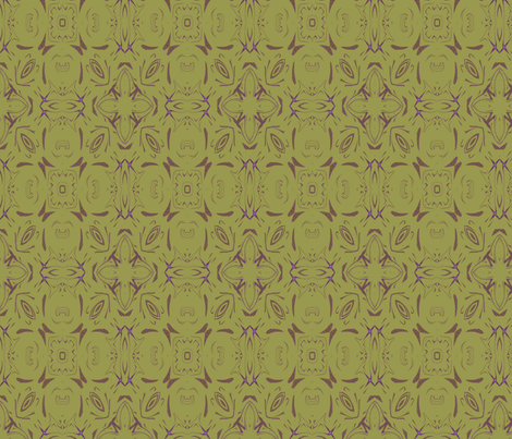 Pea Soup Lunch fabric by wren_leyland on Spoonflower - custom fabric