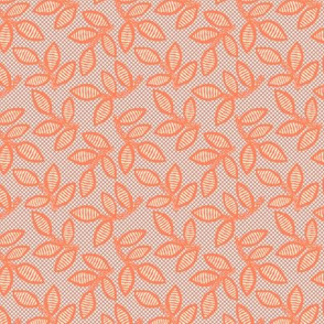 lace - coral