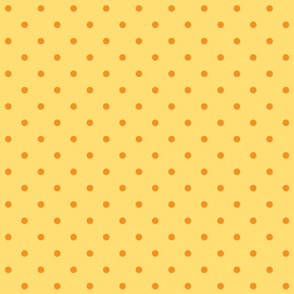 Chick Chick Yellow Polka dots