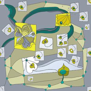 Mod Geometric Leaves