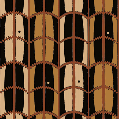 Mud Barrel fabric by david_kent_collections on Spoonflower - custom fabric