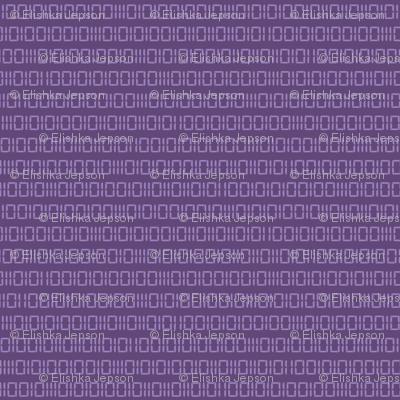 Robot Binary (Purple)