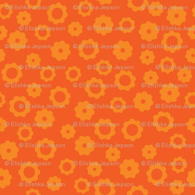 Robot Gears (Orange)