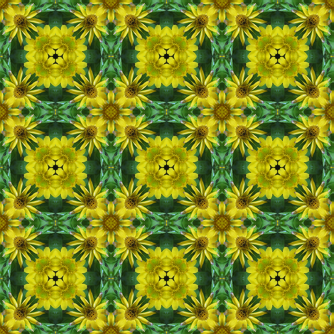 Daisy Dance 18 - Flower Power fabric by dovetail_designs on Spoonflower - custom fabric