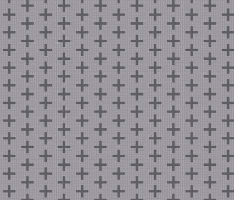 cross fabric by katarina on Spoonflower - custom fabric