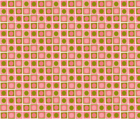 Matilda_Pink_Coordinate_ii fabric by designedtoat on Spoonflower - custom fabric