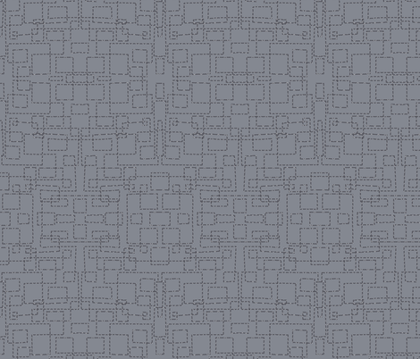 quilting drawing lines - pattern  fabric by katarina on Spoonflower - custom fabric