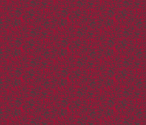 Firepuff Paint it Red fabric by glimmericks on Spoonflower - custom fabric