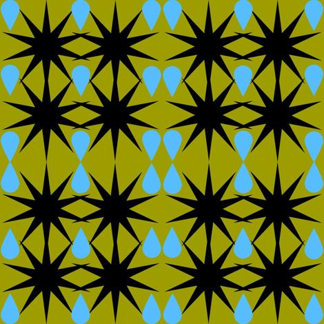 Raining Cuckleburrs fabric by sparksinthewoods on Spoonflower - custom fabric