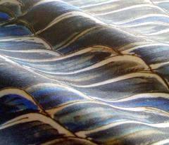 Blue velvet sea