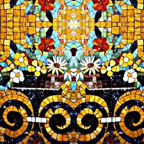 Mosaic Tile Work
