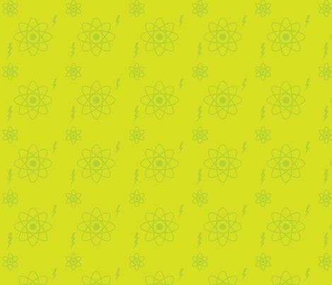 Acidic Atomic fabric by bluealgae on Spoonflower - custom fabric