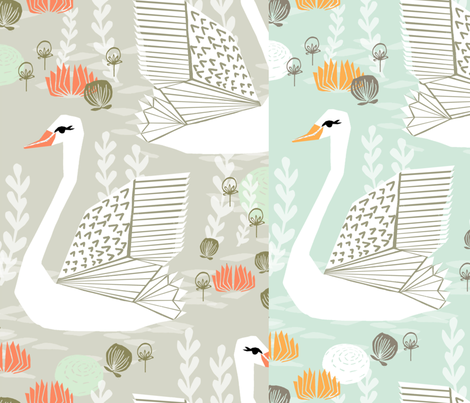 Custom fabric by andrea_lauren on Spoonflower - custom fabric