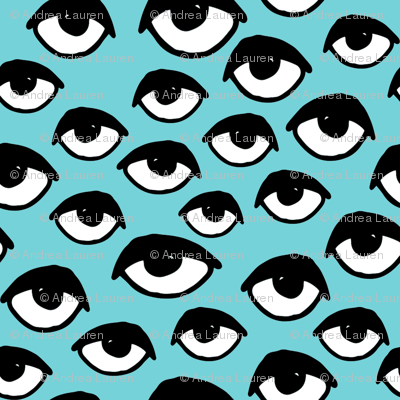 Eyes // aqua tiny version eye