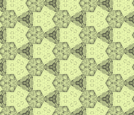 White Tea House fabric by wren_leyland on Spoonflower - custom fabric