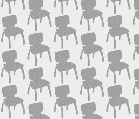eames chairs fabric by mummysam on Spoonflower - custom fabric