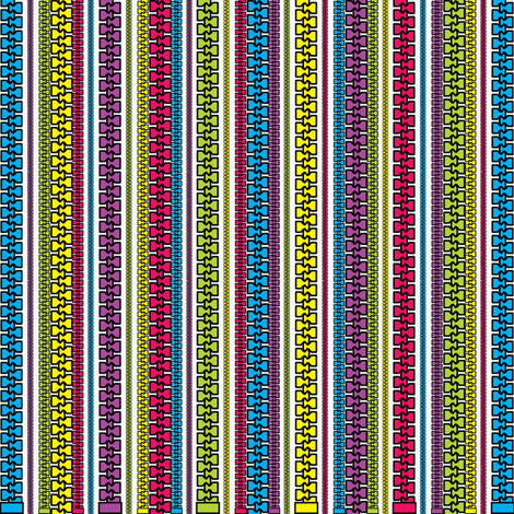 Sewing hardware (zippers) fabric by majobv on Spoonflower - custom fabric