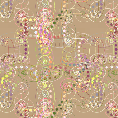 Arabesque_1 fabric by patsijean on Spoonflower - custom fabric