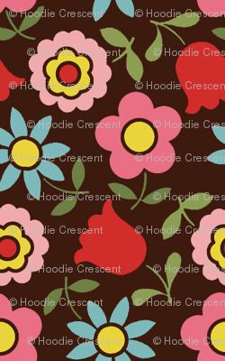 mod_flower - Brown