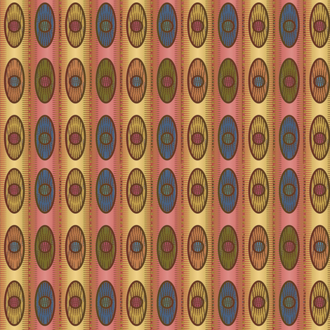 Alistaire Ikat (Yellow) fabric by david_kent_collections on Spoonflower - custom fabric