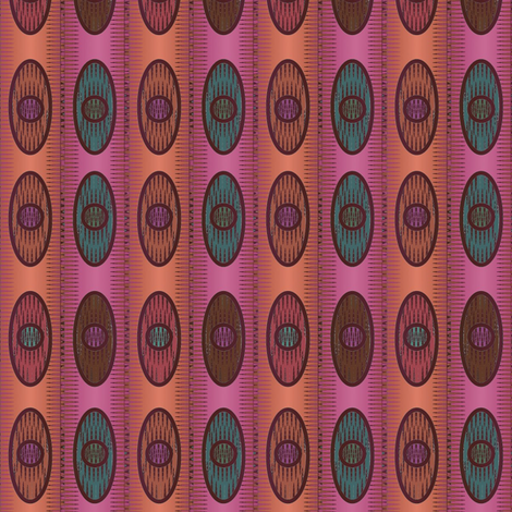 Alistaire Ikat (Violet) fabric by david_kent_collections on Spoonflower - custom fabric
