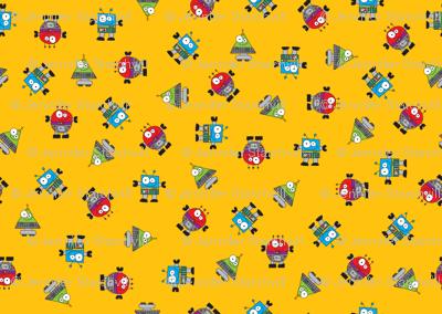 RobotScatterOrange