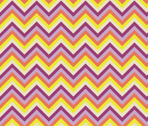 Multicolor_chevron fabric by natasha_k_ on Spoonflower - custom fabric