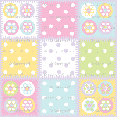 Patchwork in pastels