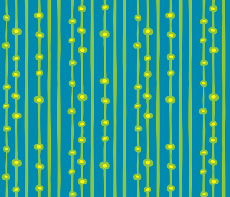 RobotStripe1 fabric by ghennah on Spoonflower - custom fabric