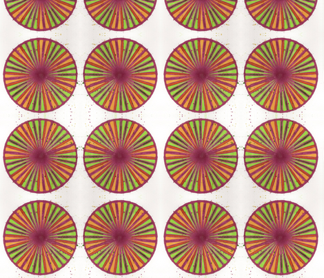 pink_orange_green_pinwheel1 fabric by jkayep2 on Spoonflower - custom fabric