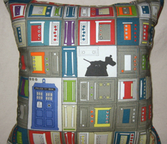 tardis disco dog grid