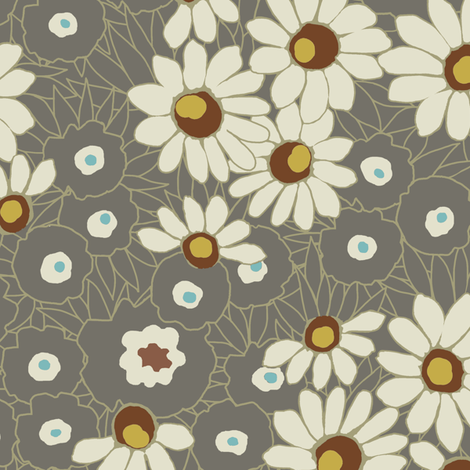 Spring Fever / Vintage fabric by hoodiecrescent&stars on Spoonflower - custom fabric