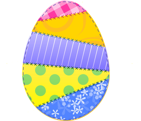 Colorful Easter Egg fabric by twosister42 on Spoonflower - custom fabric