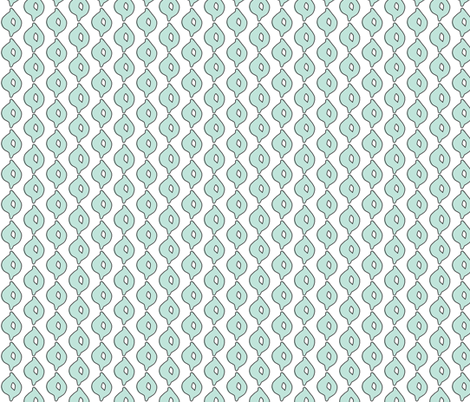 doodle dot (aqua) fabric by pattyryboltdesigns on Spoonflower - custom fabric