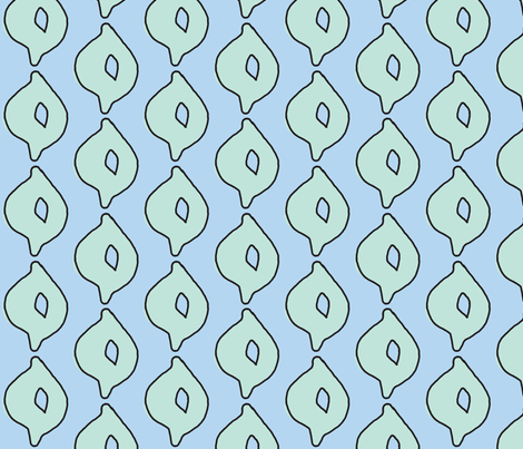 doodle dot (aqua/sky) fabric by pattyryboltdesigns on Spoonflower - custom fabric