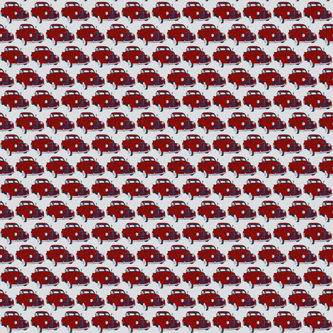 1940's Studebaker truck M Series/Coupe Express red on gray fabric by edsel2084 on Spoonflower - custom fabric
