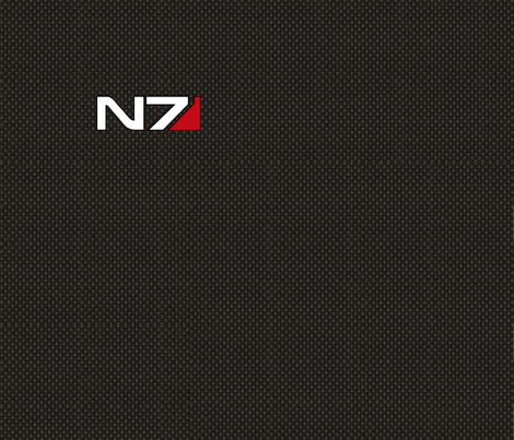 N7 Simple Fat Quarter fabric by retropopsugar on Spoonflower - custom fabric