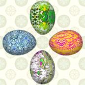 Pesanky Eggs 1000