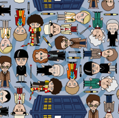 doctor who ville - SMALL/Blue
