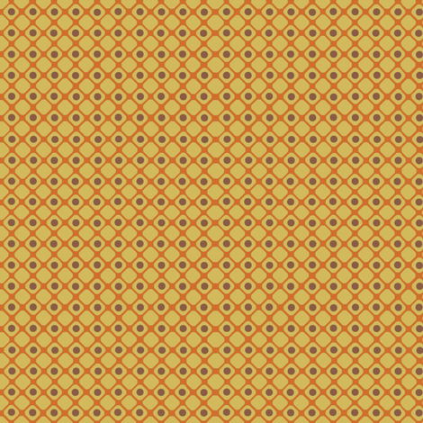 Dice_check_yellow fabric by hoodiecrescent&stars on Spoonflower - custom fabric