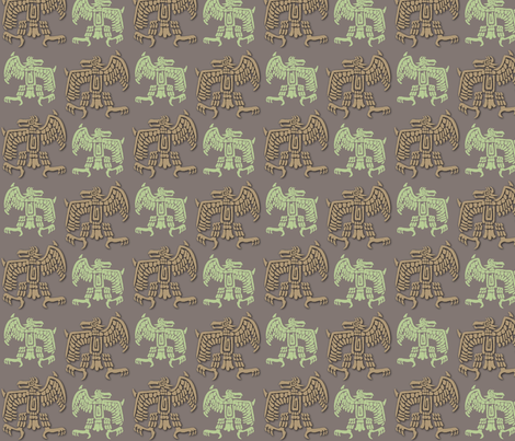 Aztec_Spring fabric by dervishheart on Spoonflower - custom fabric